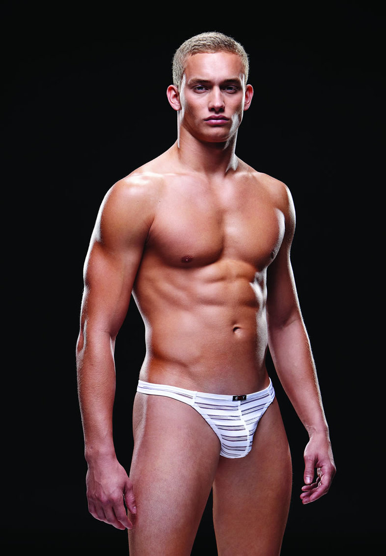 Microfiber Thong L/xl White